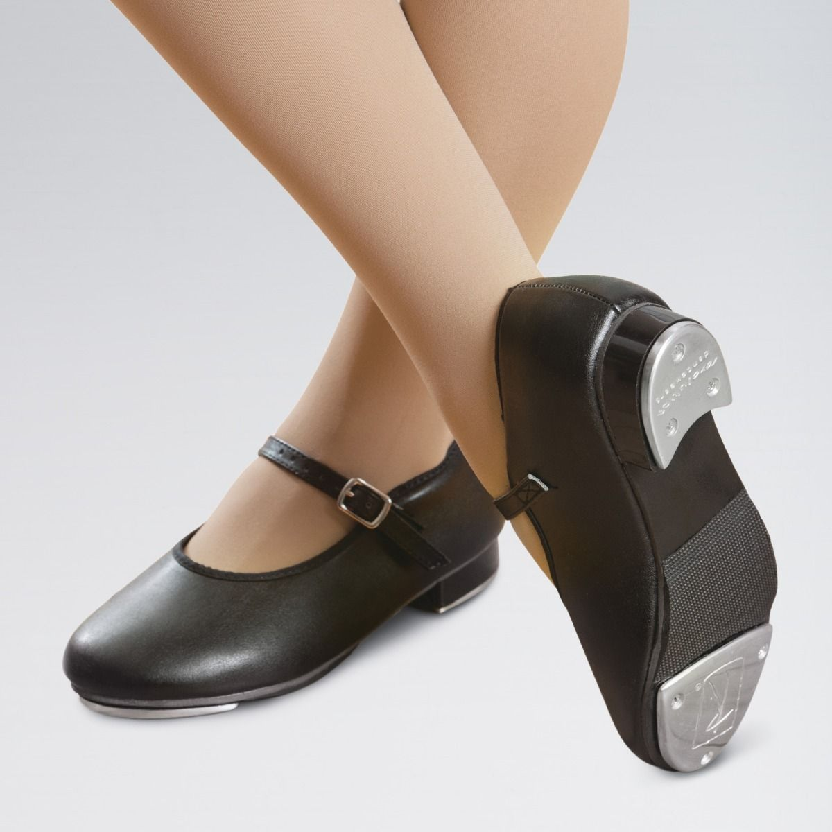 Girls Buckle Tap Shoes for Primary to