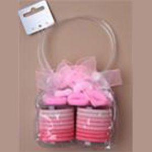 pink bobble purse