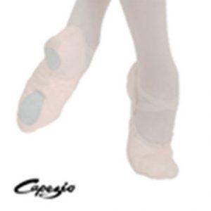 Canvas cobra split sole ballet shoes