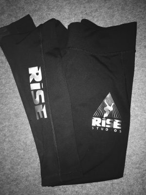 Black dance leggings