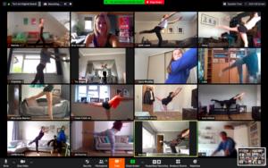 Online dance classes in lockdown