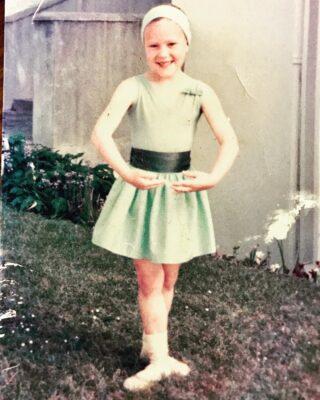 Claire dancing ballet