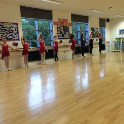 Senior ballet class