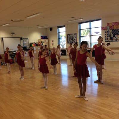 Grade 3 Ballet class