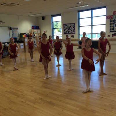 Classical Ballet dancing