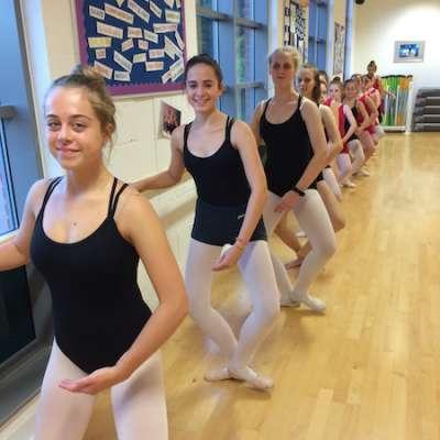 Grade 4 Ballet class