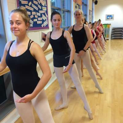Ballet tendu