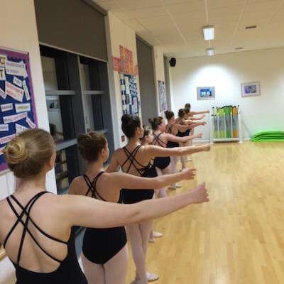 Grade 5 ballet class