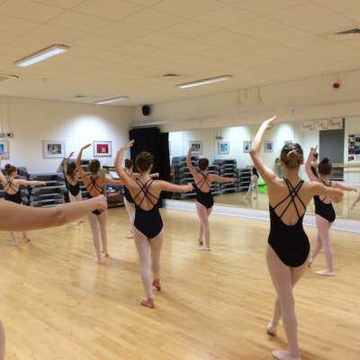 Ballet at Rise Studios